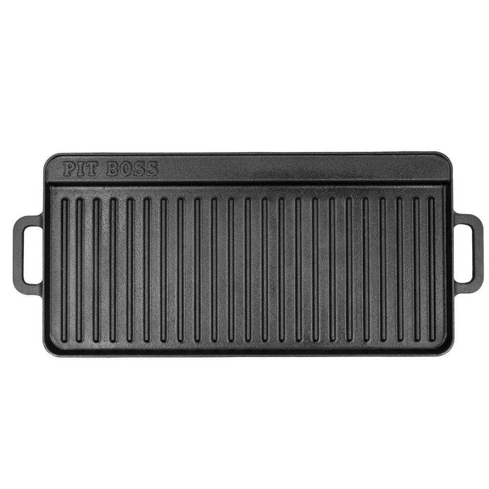 "Image of ""10""""x 20"""" Cast Iron Griddle - Pit Boss"""