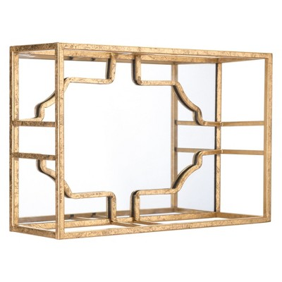 ZM Home 16  3-Dimensional Wall Sculpture Gold