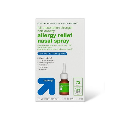 Fluticasone Propionate Allergy Relief Nasal Spray - 72 sprays/0.38 fl oz - up & up™