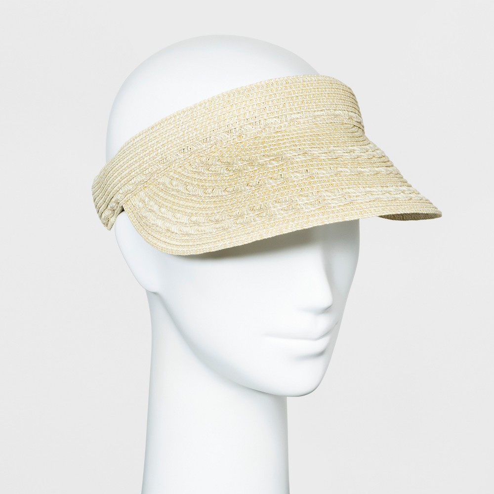 Women's Vintage Hats | Old Fashioned Hats | Retro Hats Women callop Inet Clip On Vior - A New Day8482 Natural $9.99 AT vintagedancer.com