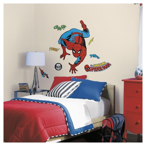 Spider-Man Comic Wall Decals - image 1 of 1