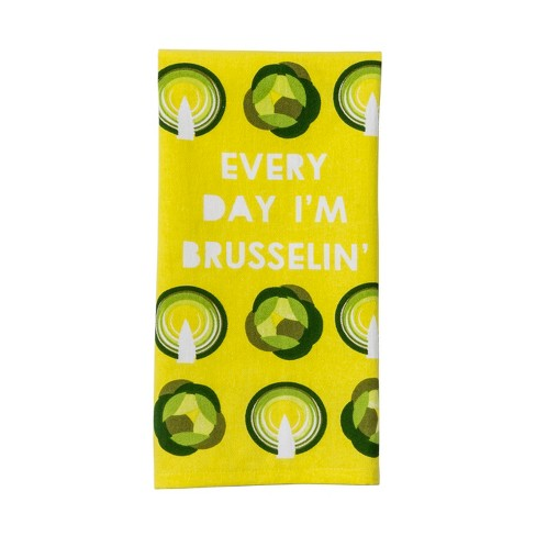 Citrus Pear Vegetable Kitchen Towel Yellow - Project 62™ - image 1 of 1