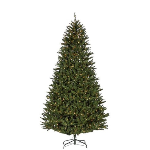 9ft Sterling Tree Company Full New England Pine with 1100 Clear Lights Artificial Christmas Tree - image 1 of 3