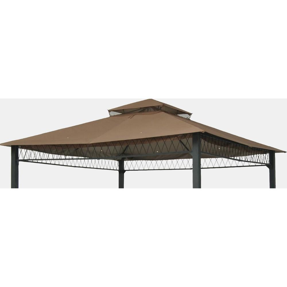 10' x 10' Replacement Gazebo Canopy - Tan - Threshold