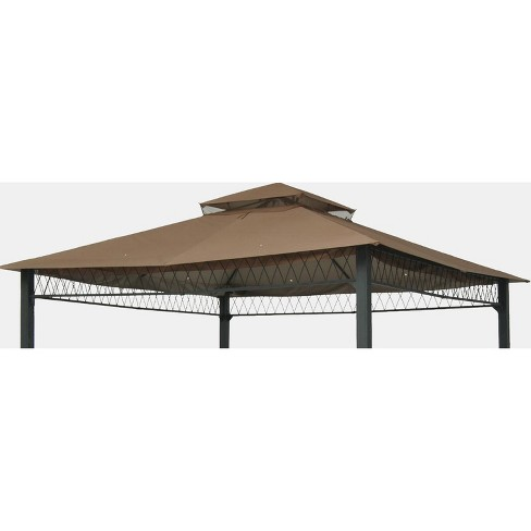 newest 317a2 47b95 10' x 10' Replacement Gazebo Canopy - Tan - Threshold™