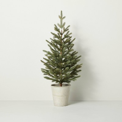 """36"""" Faux Porch Potted Pine Tree - Hearth & Hand™ with Magnolia"""