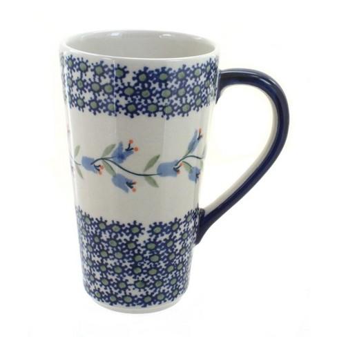 Blue Rose Polish Pottery Tulip Large Coffee Mug - image 1 of 1
