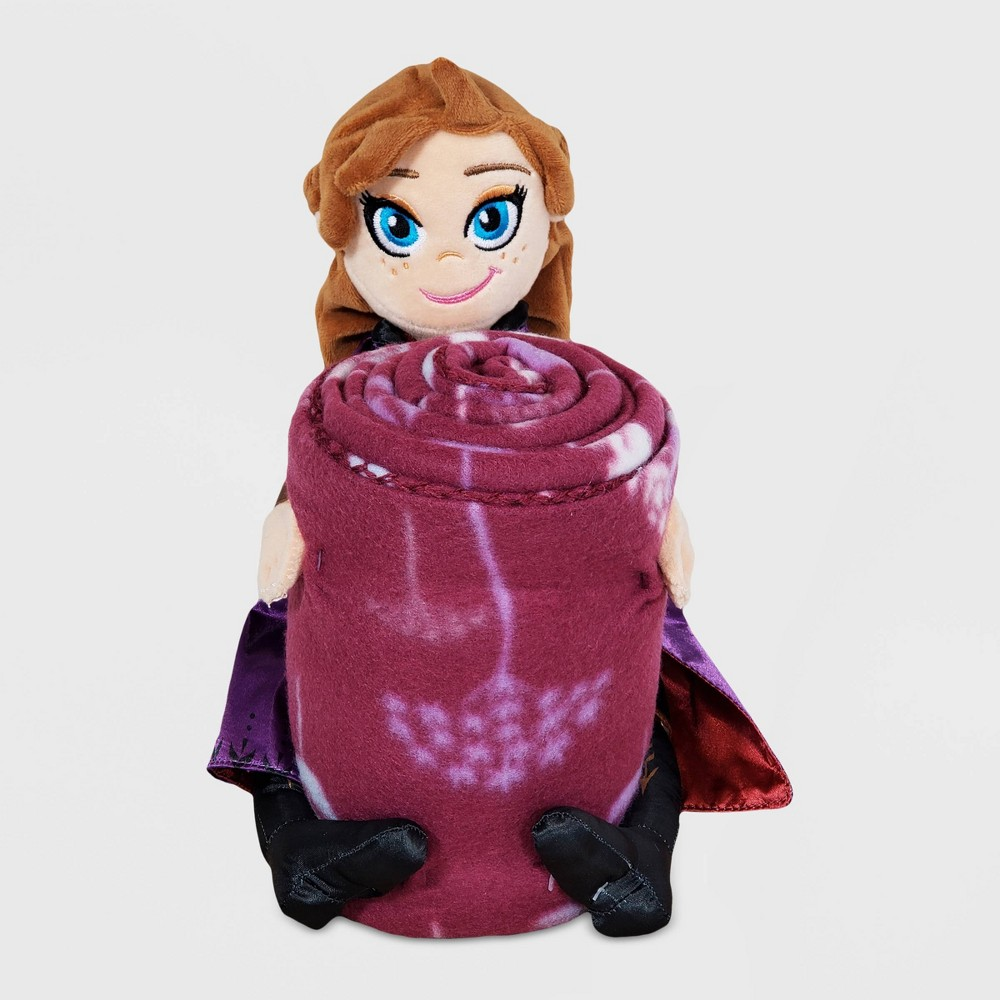 Image of Frozen 2 Dandelion Anna Character Throw Pillow Set
