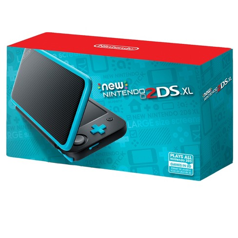 Nintendo 2ds Black Friday >> New Nintendo 2ds Xl Black And Turquoise Target