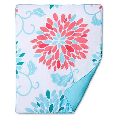 Sweet Jojo Designs Emma 11pc Crib Bedding Set Turquoise Pink Target