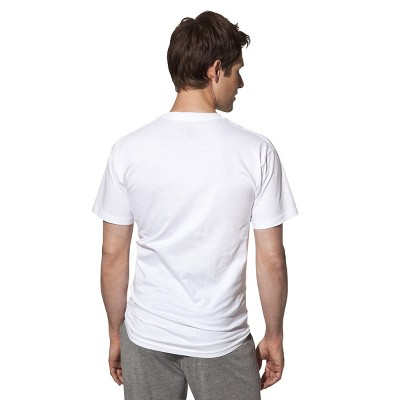 Hanes Premium Men's V-Neck T-Shirt 3Pk- White S, Size: Small