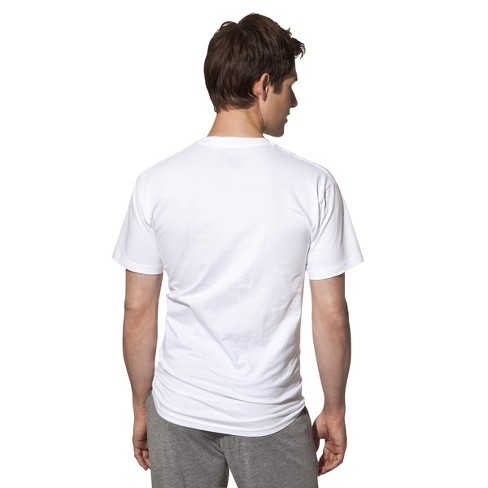 Hanes Premium Men S V Neck T Shirt 3pk White Target