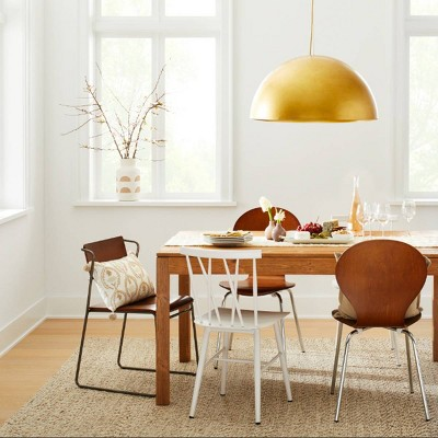 Modern Dining Room With Statement Lighting Ideas Target