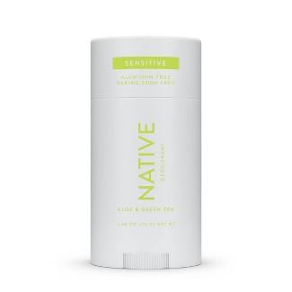 Native Sensitive Deodorant Aloe & Green Tea - 2.65oz : Target