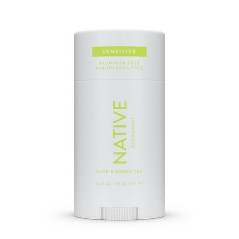 Native Sensitive Deodorant Aloe & Green Tea - 2.65oz - image 1 of 4