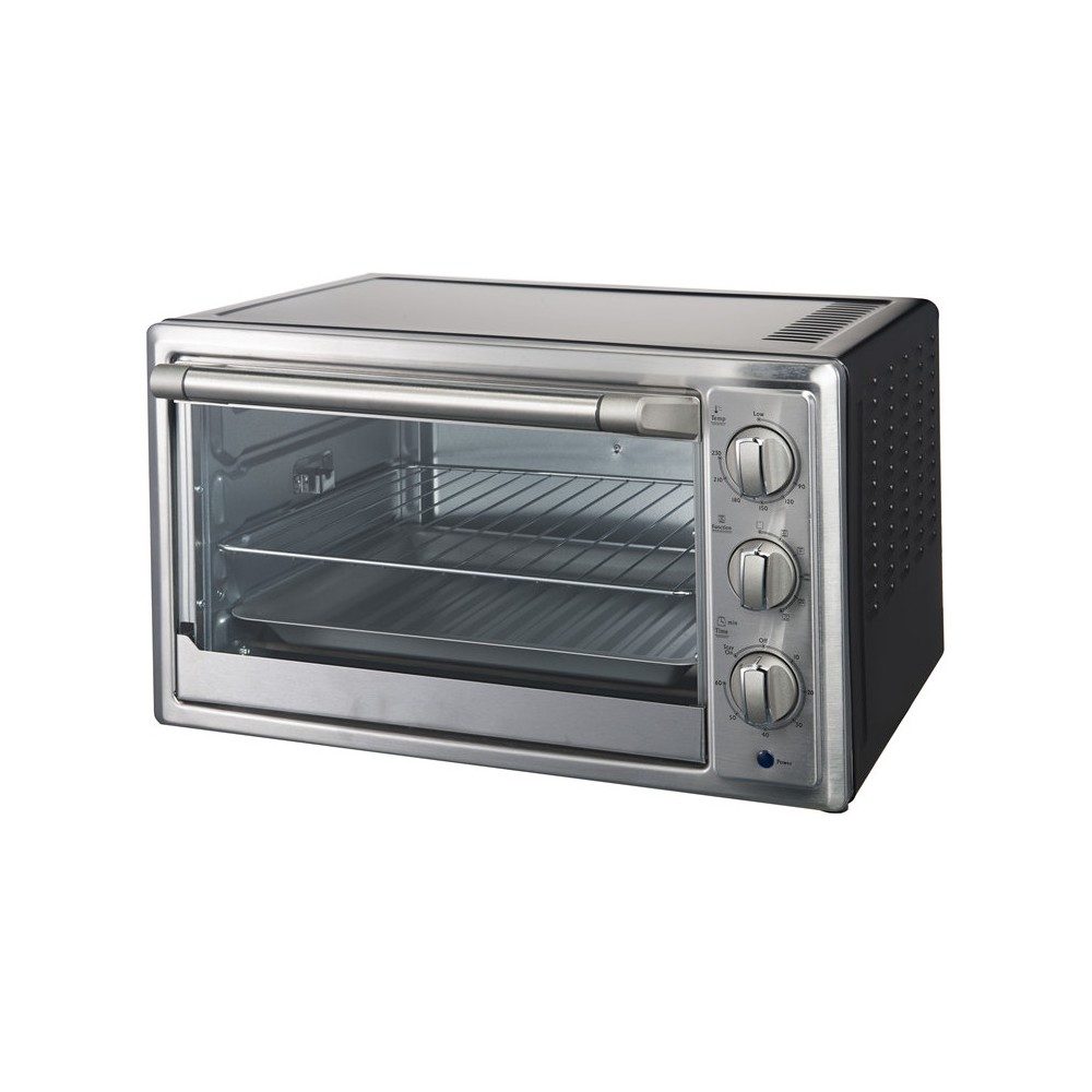 Image of Galanz 6 Slice Convection Toaster Oven 1.5 cu ft - Stainless Steel KWS1542Q-H12, Silver