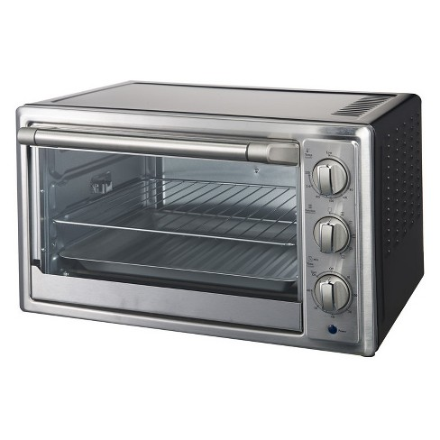 Galanz 6 Slice Convection Toaster Oven - Stainless Steel KWS1530Q-H12B - image 1 of 4