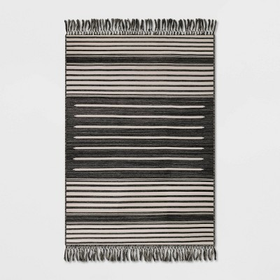 Fringed Stripe Outdoor Rug - Project 62™