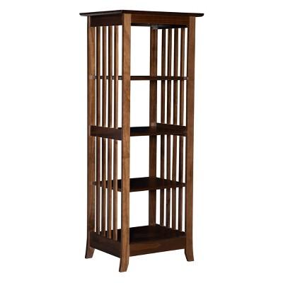 "56.25"" Emerson Single Bookshelf Brown - Linon"