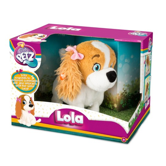 Club Petz Lola Animatronic Plush Puppy image number null