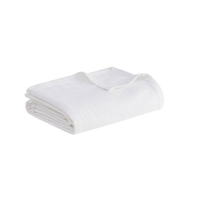 100% Cotton Gauze Bed Blanket - Clean Spaces