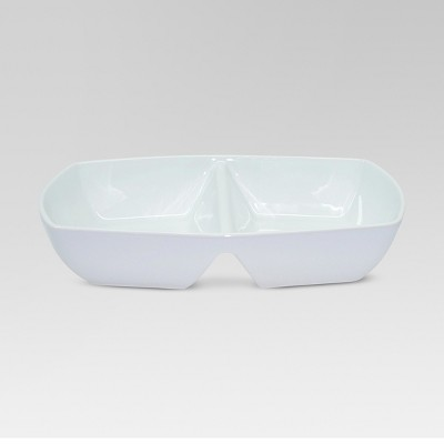 Divided Serving Dish - White - Threshold™