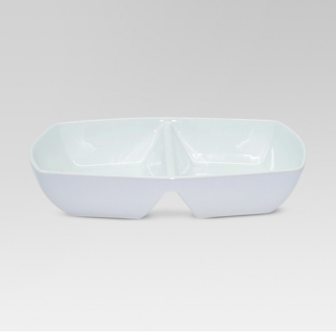 Divided Serving Dish - White - Threshold™ - image 1 of 1