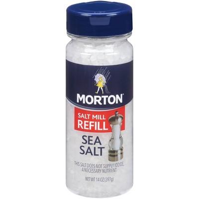 Morton Extra Coarse Sea Salt Grinder Refill - 14oz