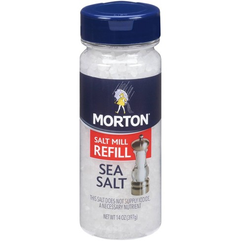 Morton Extra Coarse Sea Salt Grinder Refill - 14oz - image 1 of 3