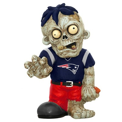 NFL Forever Collectibles Resin Zombie Figurine New England Patriots