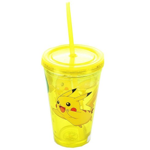 Just Funky Pokemon Pikachu 16oz Carnival Cup with Lightning Confetti - image 1 of 1