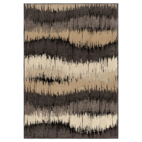 Electric Waves Multi-color Rug - Orian - image 1 of 5