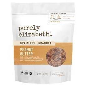 Purely Elizabeth Grain Free Granola Peanut Butter Cinnamon - 8oz