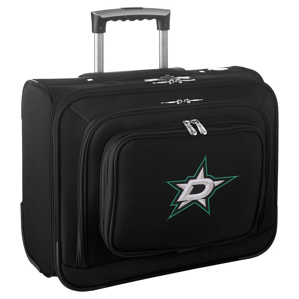 NHL Dallas Stars Mojo Wheeled Laptop Overnight Suitcase