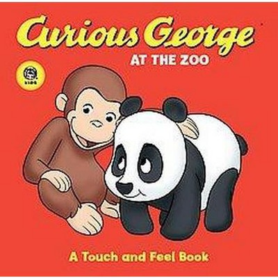 Curious George at the Zoo ( Curious George) by H. A. Rey (Board Book)