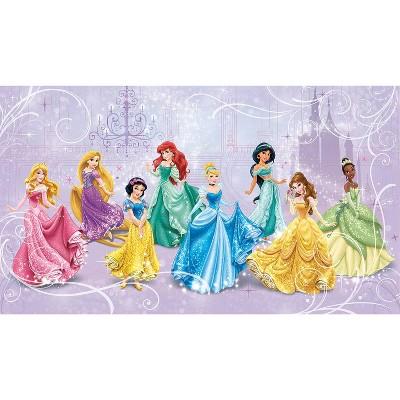 6'x10.5' Disney Princess Royal Debut Prepasted Mural Ultra Strippable - RoomMates