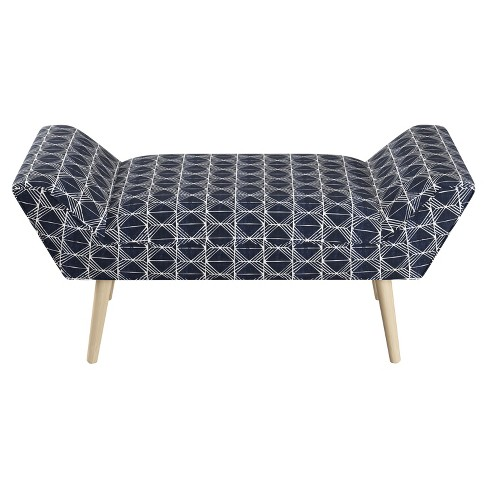 Cher Modern Welted Bench - Cloth & Co. - image 1 of 3