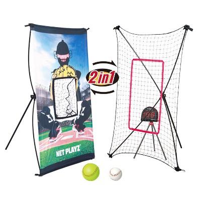 Net Playz Baseball Smart Trainer Combo