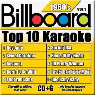 Billboard Karaoke - Billboard Top-10 Karaoke - 1960's Vol. 1 (10+10-song CD+G)