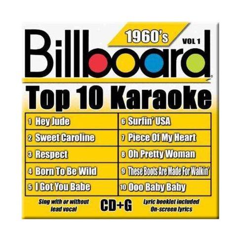 Artist Not Provided - Billboard Top 10 Karaoke: 1960's (CD) - image 1 of 1