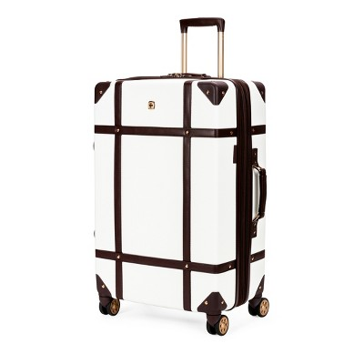SWISSGEAR 26  Hardside Trunk Suitcase - Swiss Coffee