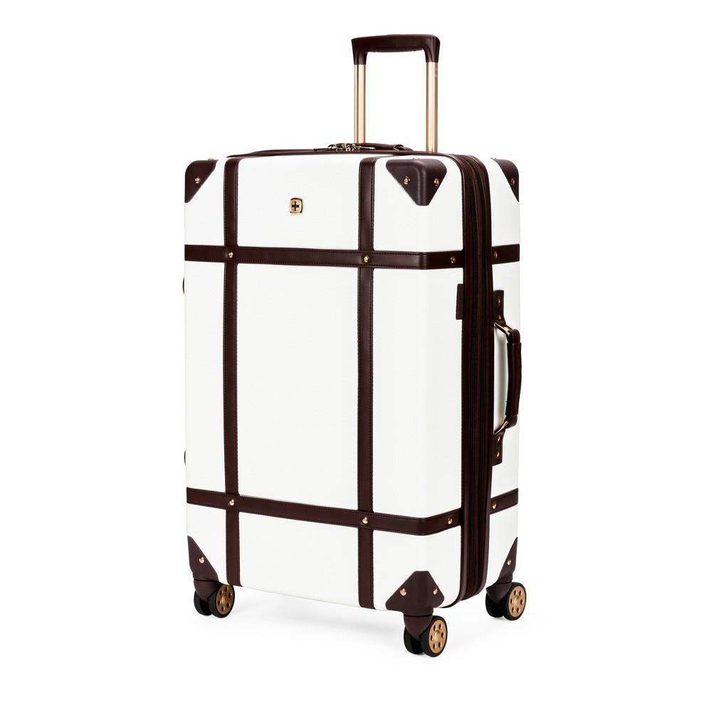 Swissgear 26 Hardside Trunk Luggage - Swiss Coffee
