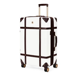 SWISSGEAR 26u0022 Hardside Trunk Suitcase - Swiss Coffee