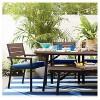 Mantega Faux Wood Rectangle Folding Patio Dining Table - Project 62™ - image 3 of 3