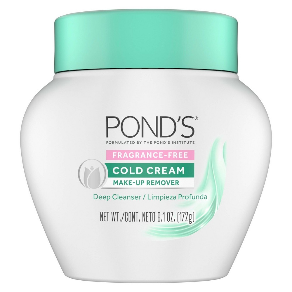 Image of Pond's Fragrance Free Cold Cream Make-Up Remover - 6.1oz