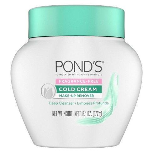 Pond's Fragrance Free Cold Cream Make-Up Remover - 6.1oz - image 1 of 3