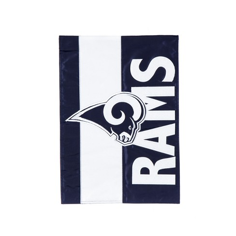 a7d12cb8a8e Los Angeles Rams Embellished House Flag   Target