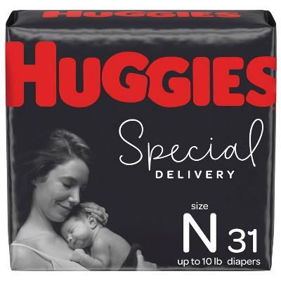 Huggies Special Delivery Hypoallergenic Diapers Jumbo Pack - Size Newborn (32ct)