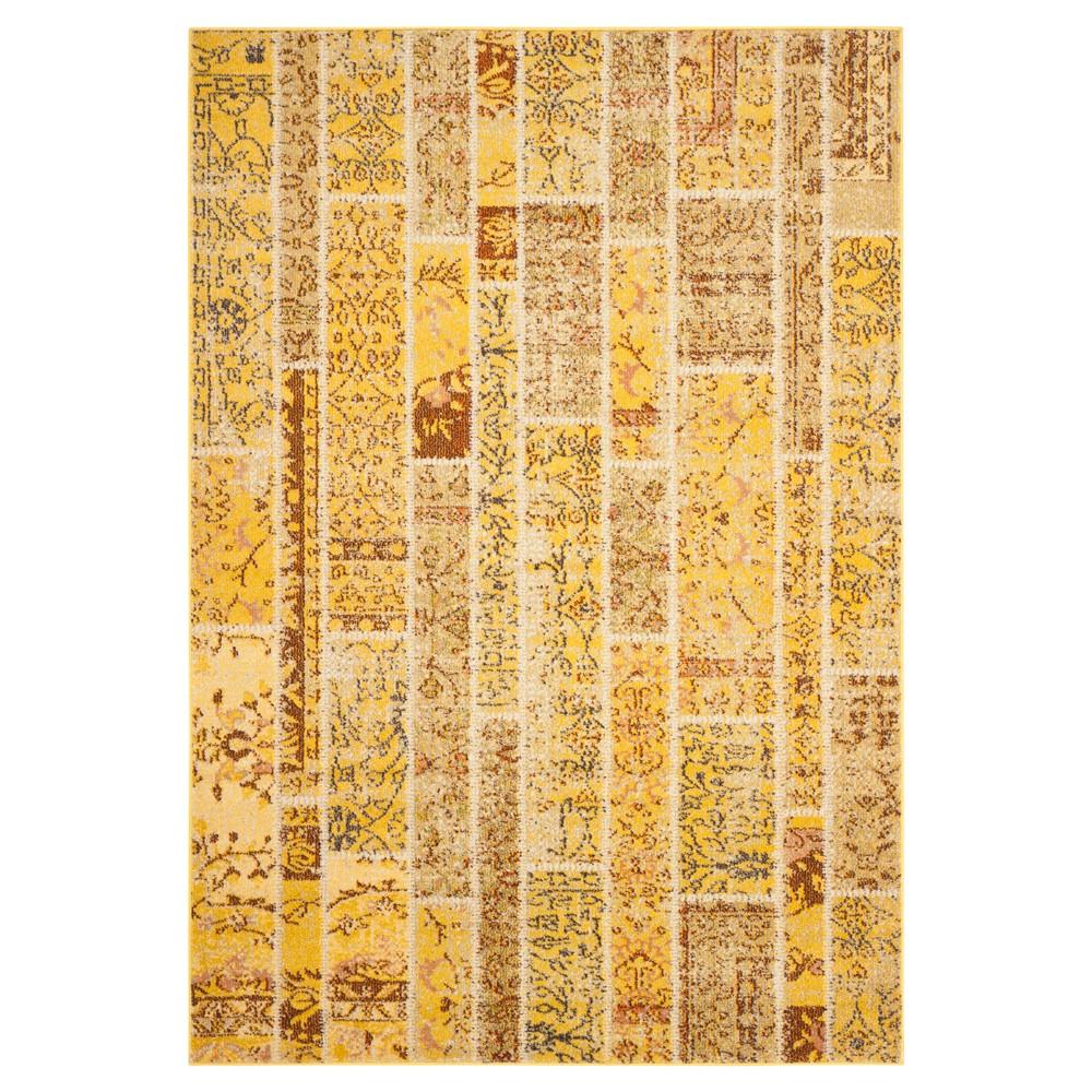 Randall Area Rug - Yellow / Multi ( 5' 1