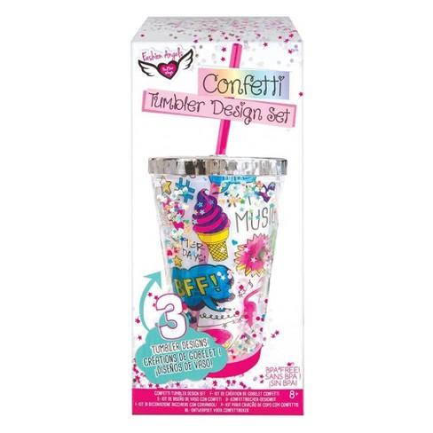 Fashion Angels Confetti Tumbler Design Kit Target